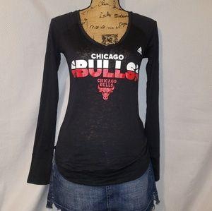 Adidas Chicago bulls longsleeve tee.